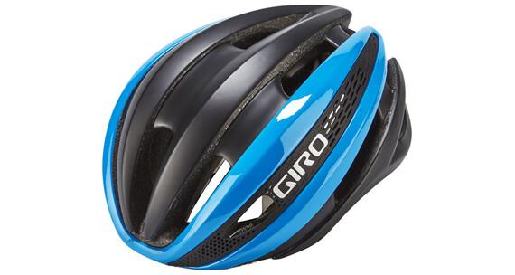 Giro Synthe MIPS Pyöräilykypärä , sininen/musta